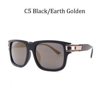 Πολυτελή επώνυμη σχεδίαση fashion classic grandmaster 4 style gradient lens sunglasses men vintage sun glasses oculos
