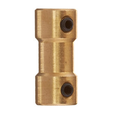 Hot Koop Rc Vliegtuig 2 Mm Tot 3 Mm Messing Motor Koppeling Shaft Coupler Connector(China)