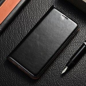 Image 2 - luxury Genuine Leather Case For Lenovo Vibe K3 K5 K6 Z5 A5 S5 Power K8 K10 Note Plus 2018 Play Pro Case Crazy Horse Flip Cover