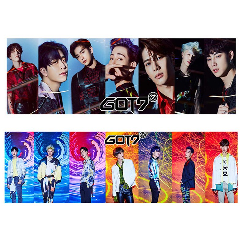 1 Piece Kpop Got7 Concert Support Hand Banner Fabric Hang Up Poster For Fans Collection Gift