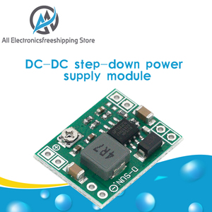 Ultra-Small Size DC-DC Step Down Power Supply Module MP1584EN 3A Adjustable Buck Converter for Arduino Replace LM2596