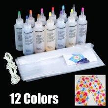 12 шт набор для краски галстука нетоксичный сделай сам одежды