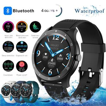 S07 Full touch Smart Watch Men Women Sports Clock Heart Rate Monitor Smartwatch for IOS Android phone