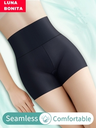 High Waist Seamless Shape Safety Panties Women Control Boyshort Slimming Butt Lifter Emptied Underpants Bodysuit Ladies