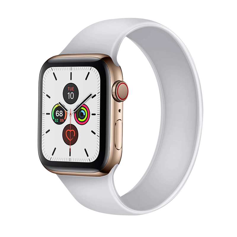 <font><b>watch</b></font> accessories strap for <font><b>apple</b></font> <font><b>watch</b></font> 5/4/<font><b>3</b></font>/2/1 band 40mm 38mm <font><b>42mm</b></font> 44mm iwatch bracelet <font><b>correa</b></font> sport silicone watchband image