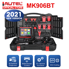 Autel MaxiCOM MK906BT Automotive Scanner 2021 New Version Car Diagnostic Scanner Full-System Diagnostics 31 Services as MS906TS