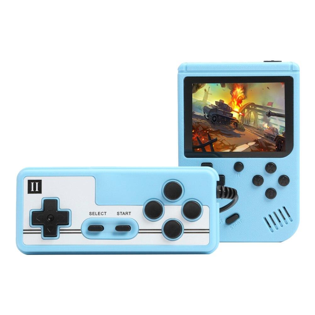 Портативная игровая консоль в стиле ретро, 500 в 1, портативные игровые приставки 8 бит, ЖК-экран 3,0 дюйма, поддержка 2 игроков с контроллером, по...
