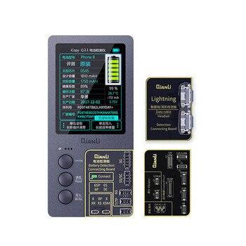 Qianli iCopy Plus ЖК-экран оригинальный цвет ремонт программист для телефона 11 Pro Max XR XSMAX XS 8P 8 7P 7 Вибрация/сенсорный ремонт