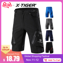 X-Tiger Downhill Shorts Bicycle Mountain-Bike MTB Riding-Road Summer Outdoor Men Loose
