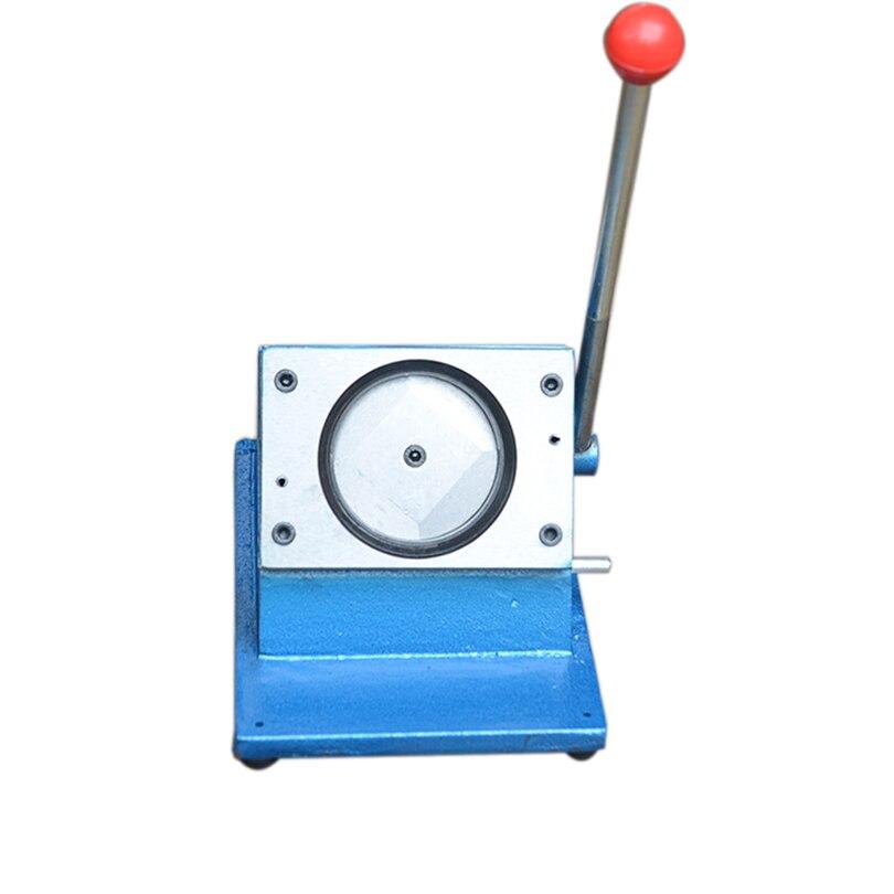 Manuelle Kreis Cutter Runde Form Schneiden Maschine Für 58mm Durchmesser Abzeichen, Der Abzeichen Presse Maschine 1PC