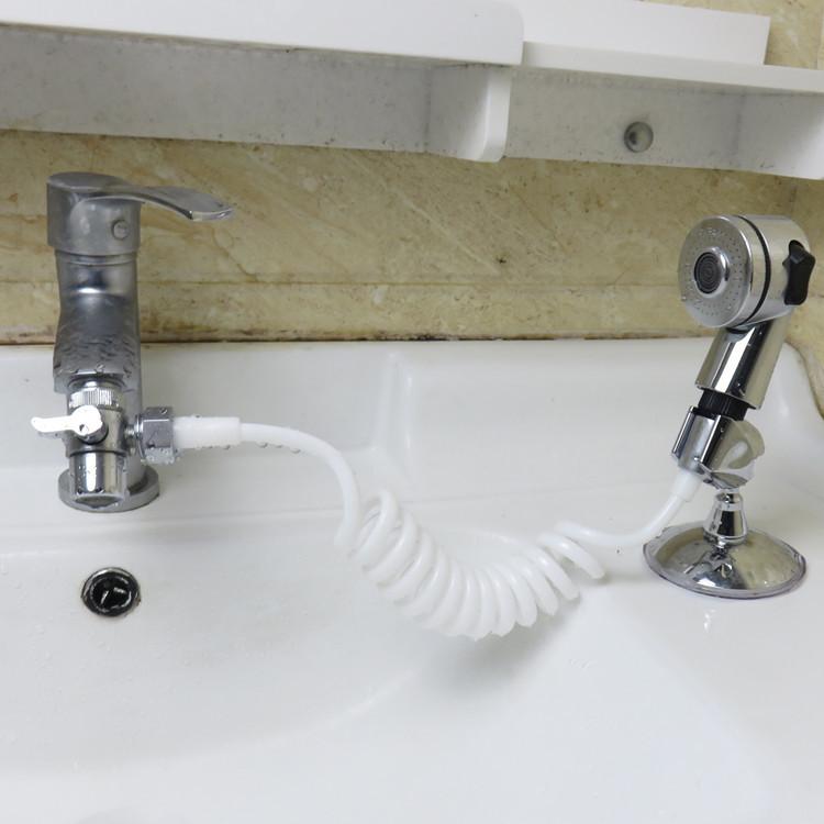 Душевая насадка для смесителя ванная комната спрей сливы шланг