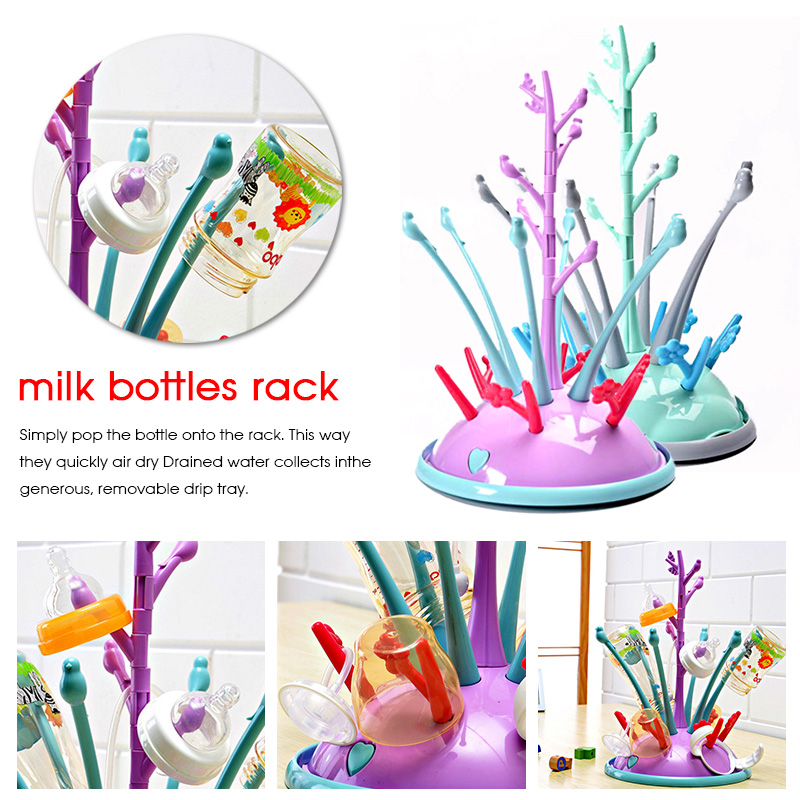 Baby Bottle Drain Rack Drying Rack Multifunctional Antibacterial Rack Convenient Storage Rack Bottle Drying Rack For Newborn