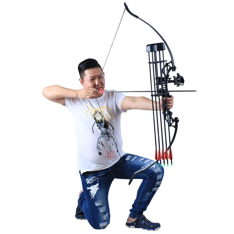 a caça de tiro com arco arco