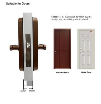 Biometrische Vingerafdruk Slot Wifi Smart Deurslot 6