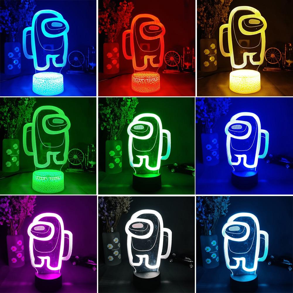 Imposter Crewmate LED Lamp