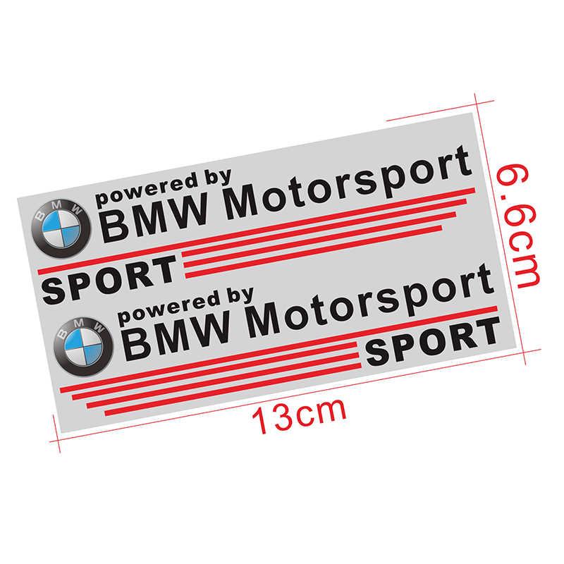 2pc del coche de motor deporte coche etiqueta engomada del cuerpo de espejo retrovisor del coche etiqueta engomada del vinilo para BMW X1 X3 X5 X6 M3 M5 E46 E39 E90 E36 E60 E34