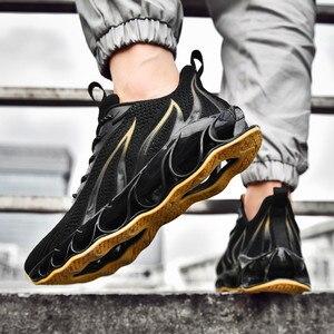 Image 2 - Männer leichte non slip schuhe bequem und atmungsaktiv Lac up männer schuhe wandern basketball schuhe Tenis feminino Zapatos