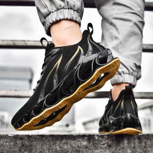 Image 2 - Sapatos masculinos de pouco peso antiderrapante confortáveis e respiráveis lac up sapatos masculinos tênis de basquete tenis feminino zapatos