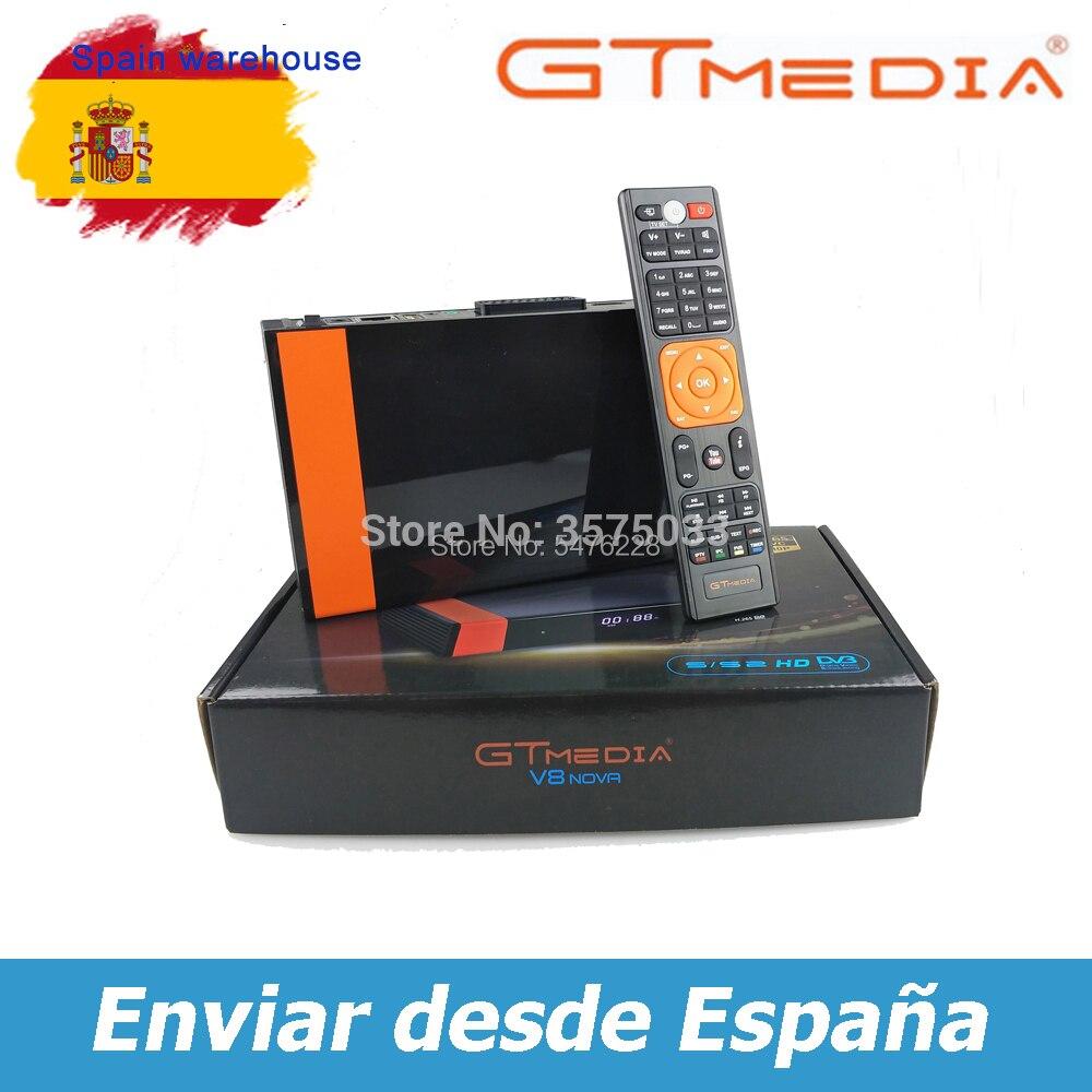 Heißer verkauf Gtmedia V8 NOVA DVB-S2 gebaut-in WIFI Gtmedia V8X gebaut-in WIFI H.265 1080P Hohe qualität Keine app