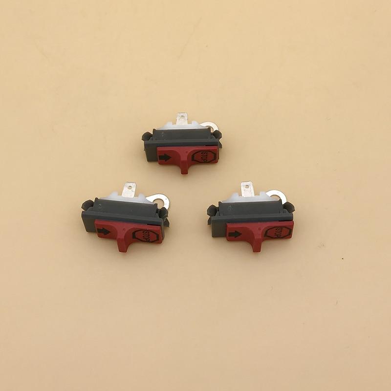 3 X Kill Stop Switch Fit HUSQVARNA 50 Special 51 55 Rancher 61 66 162 181 242 246 254 257 261EPA 262 266 268 272 K 281 288 EPA