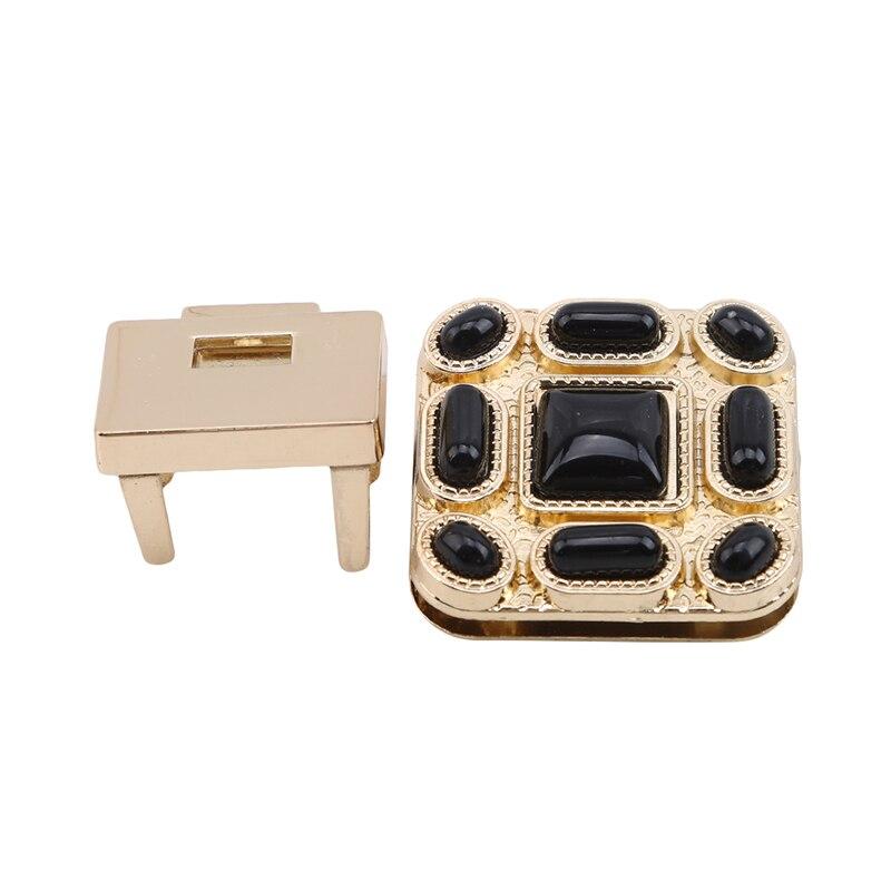 Metal Bag Lock New Clasp Lock For DIY Handmade Bag Handbag Craft Bag Purse Hardware Accessories