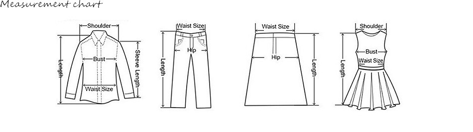 衣服尺码图片