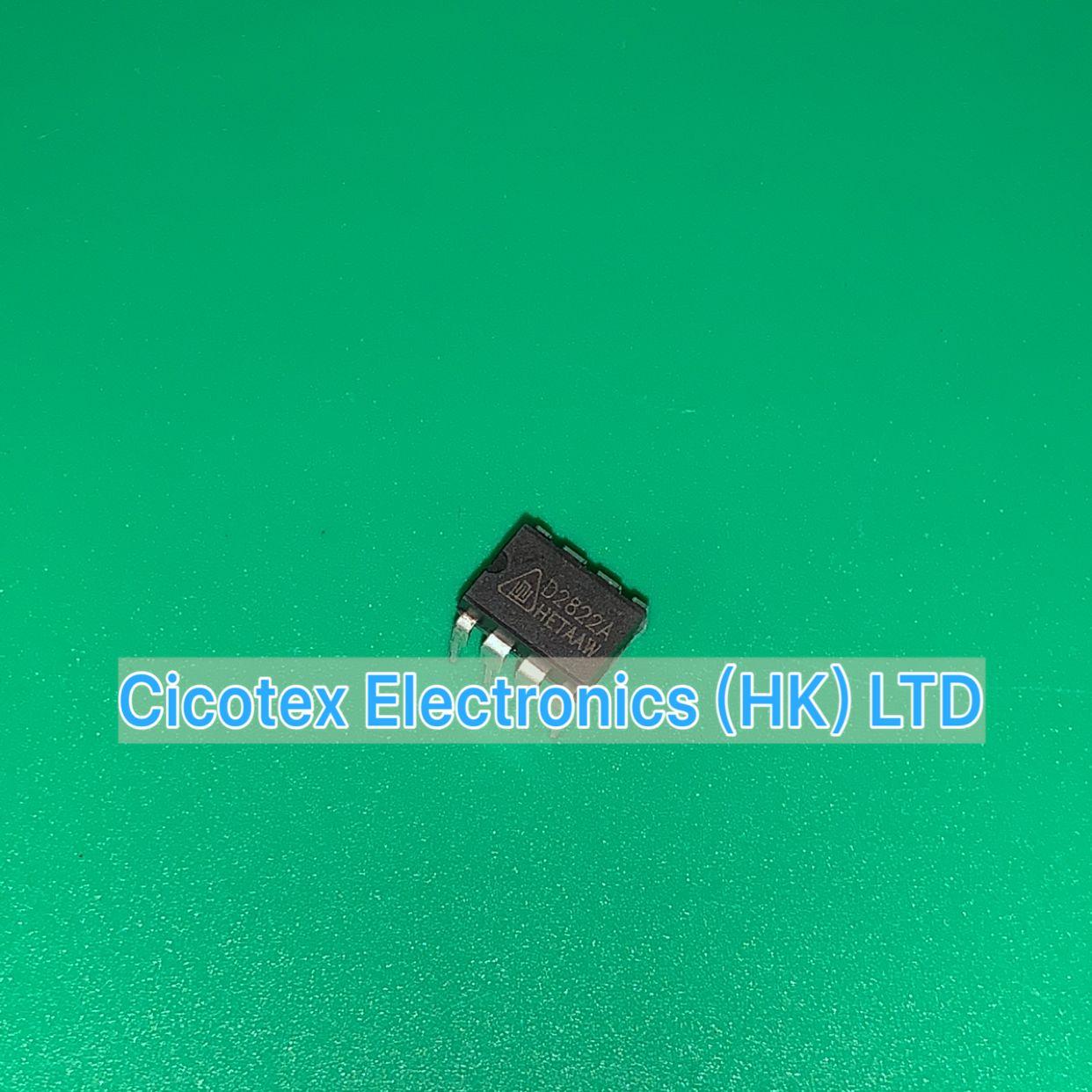 10pcs/lot D2822A CD2822ACP DIP8 Dual Channel Audio Power Amplifier Circuit CD2822CP D2822