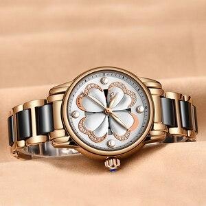 Image 2 - 2019 Nieuwe Sunkta Top Merk Luxe Waterdichte Vrouwen Horloges Mode Eenvoudige Keramische Quartz Horloge Vrouwen Jurk Klok Relogio Feminino
