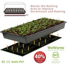 Esterilla de calor para semillas de germinación, almohadilla de iniciación clonada, suministros de jardín impermeables, semillero para germinar