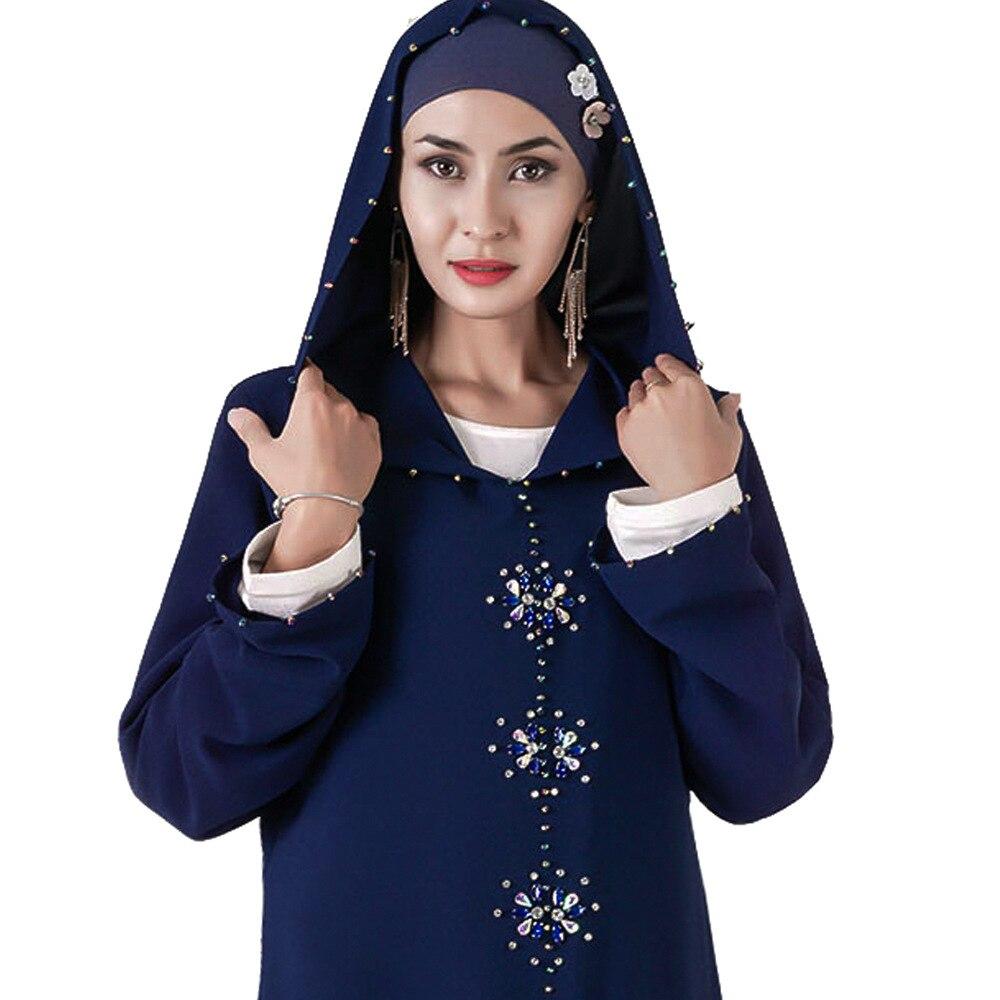 Muslim abaya hoodie dress musulman abayas for women