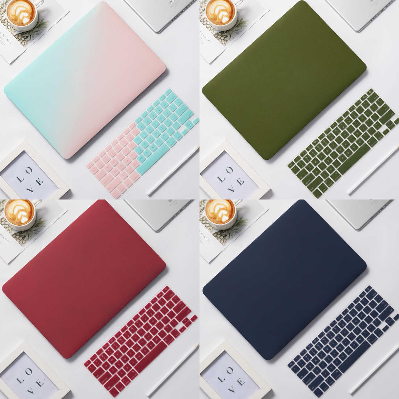 Coque solide pour Apple MacBook Air 13 2019 A2159 housse clavier Pro 13.3 15 Retina 11 12 13.3 barre tactile ordinateur portable coque d'ordinateur portable
