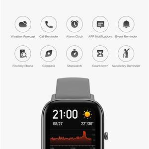 Image 3 - Amazfit GTS הגלובלית גרסה חכם שעון smartwatch GPS ריצה ספורט קצב לב 5ATM עמיד למים צמיד AMOLED Amazfit