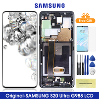 6.9'' Original G988 Lcd For Samsung Galaxy S20 Ultra Lcd Display Touch Screen Digitizer For Samsung S20Ultra G988F G988B/DS Lcd