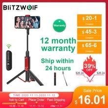 Blitzwolf BW BS10 Draagbare Bluetooth Selfie Stick Met Statief Uitschuifbare Opvouwbare Monopod Voor Iphone 11 X Voor Huawei Voor Xiaomi