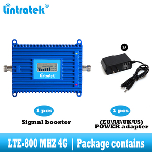 Image 5 - Lintratek LTE 800 mhz handy signal verstärker 4G 800 mhz cellular signal repeater booster band 20 4g internet netzwerk