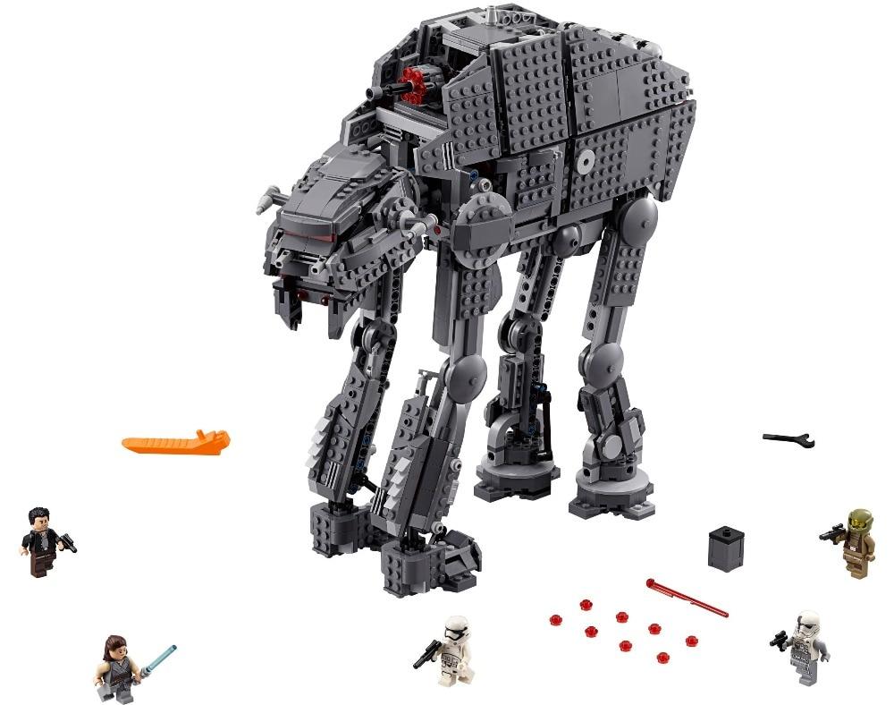 05130 Compatible Lepining 75189 75251 75187 75179 Star Wars assaut lourd Walker modèle blocs de construction cadeau jouets pour enfants