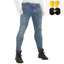 Новинка, 718 штаны для мотоциклистов, мужские мотоциклетные джинсы, защитное снаряжение для езды на мотоцикле, брюки для мотокросса, мото штаны