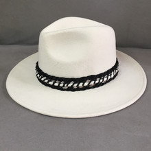 Wool Hat Fedora Panama Small Wind-Restoring White Winter Fashion New Cat Sir Ancient-Ways