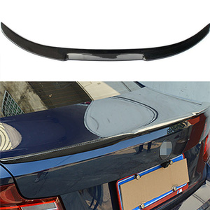 F22 M4 Style Carbon Fiber Rear Trunk Spoiler Wing for BMW F22 2014-2016