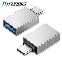 유형 C USB 3.0 OTG 어댑터 Xiaomi Mi 9 Redmi Note 8 Pro 화웨이 P30 P20 Lite 삼성 S10 10 20 S20 Oneplus 7T One Plus 7 USBC