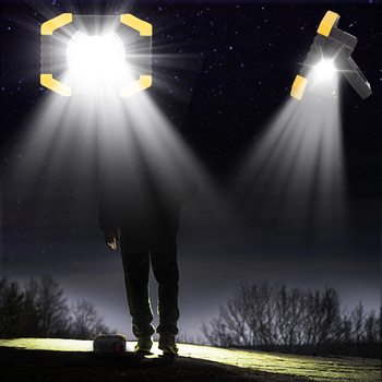 100W Led Portable Spotlight 8000lm Super Bright Led Work Light Rechargeable for Outdoor Camping Lampe Led Flashlight 3