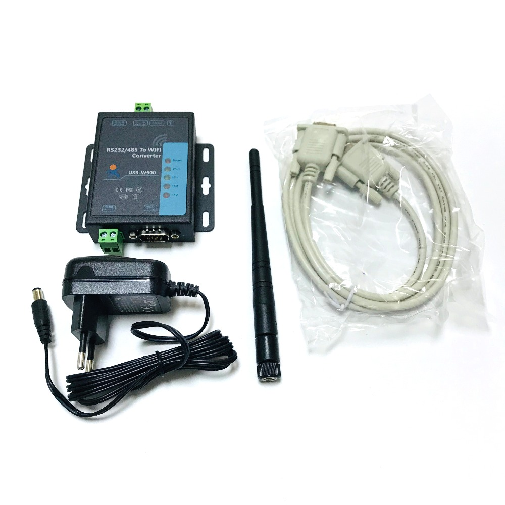 9-24VDC Serial RS485 To Wifi Converter Support Router Bridge Mode Network TCP/IP