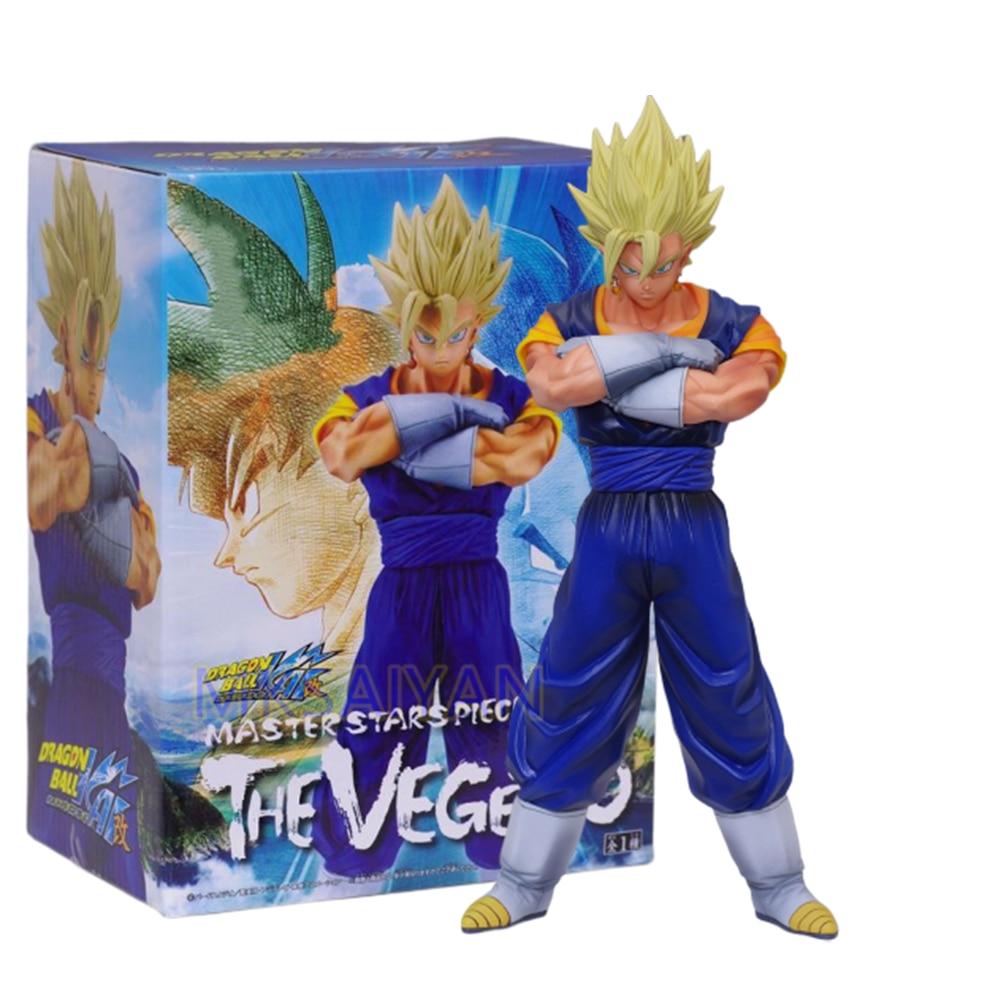Dragon Ball Vegetto Anime Action Figure Master Stars Piece Toys Goku Vegeta Figma DBZ Model PVC Vegetto Doll Collector Figurals