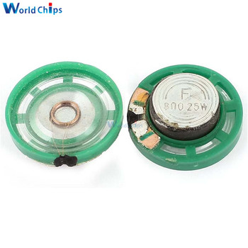 2 pcs/lot 8 ohms 0.25W Speaker Diameter 29mm Ultra-thin Thickness for Doorbell Horn Toy Car DIY Kit