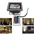Светодиодный прожектор  10 Вт  белый/теплый белый/красный/зеленый/синий/RGB  уличный водонепроницаемый  IP65  разноцветный Точечный светильник + ...