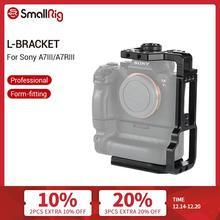 Smallrig L Beugel Voor Sony A7III/A7RIII Camera En Batterij Grip Quick Release Half Kooi Met Top Plaat + L Plaat 2341