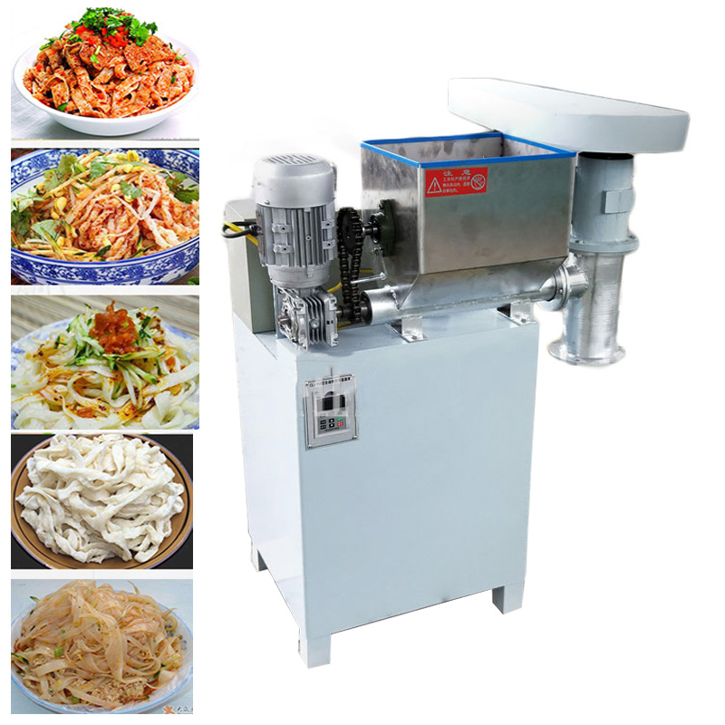 Automatic commercial fresh spicy strip machine 100/150 type multi-function cold noodle machine beef tendon machine 220V/380V 4KW