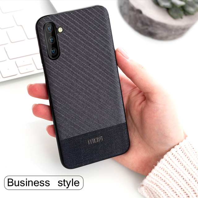 MOFi Samsung Galaxy Note 10 Plus Shockproof Business Style Back Case Cover