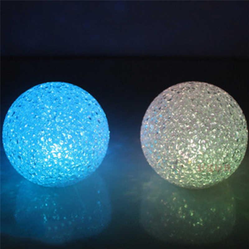 Quả Cầu pha lê Ánh Sáng Đổi Màu Đèn Ngủ LED Chiếu Sáng Gia Đình Nhiều Màu Sắc Khí Quyển Đèn Trẻ Em Quà Tặng Trang Trí Phòng Ngủ