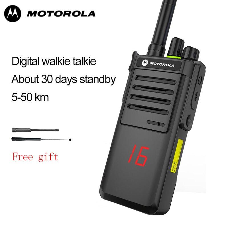 Motorola  Walkie Talkie Xirp8668 Met 20 Kanalen 6Km Afstand Outdoor Walkie Talkie Ondersteuning Ni-Mh Batterij & Aaa Batterij